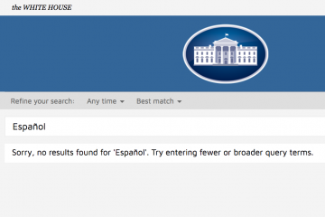 Translation Startup Pulls Marketing Stunt on White House Website