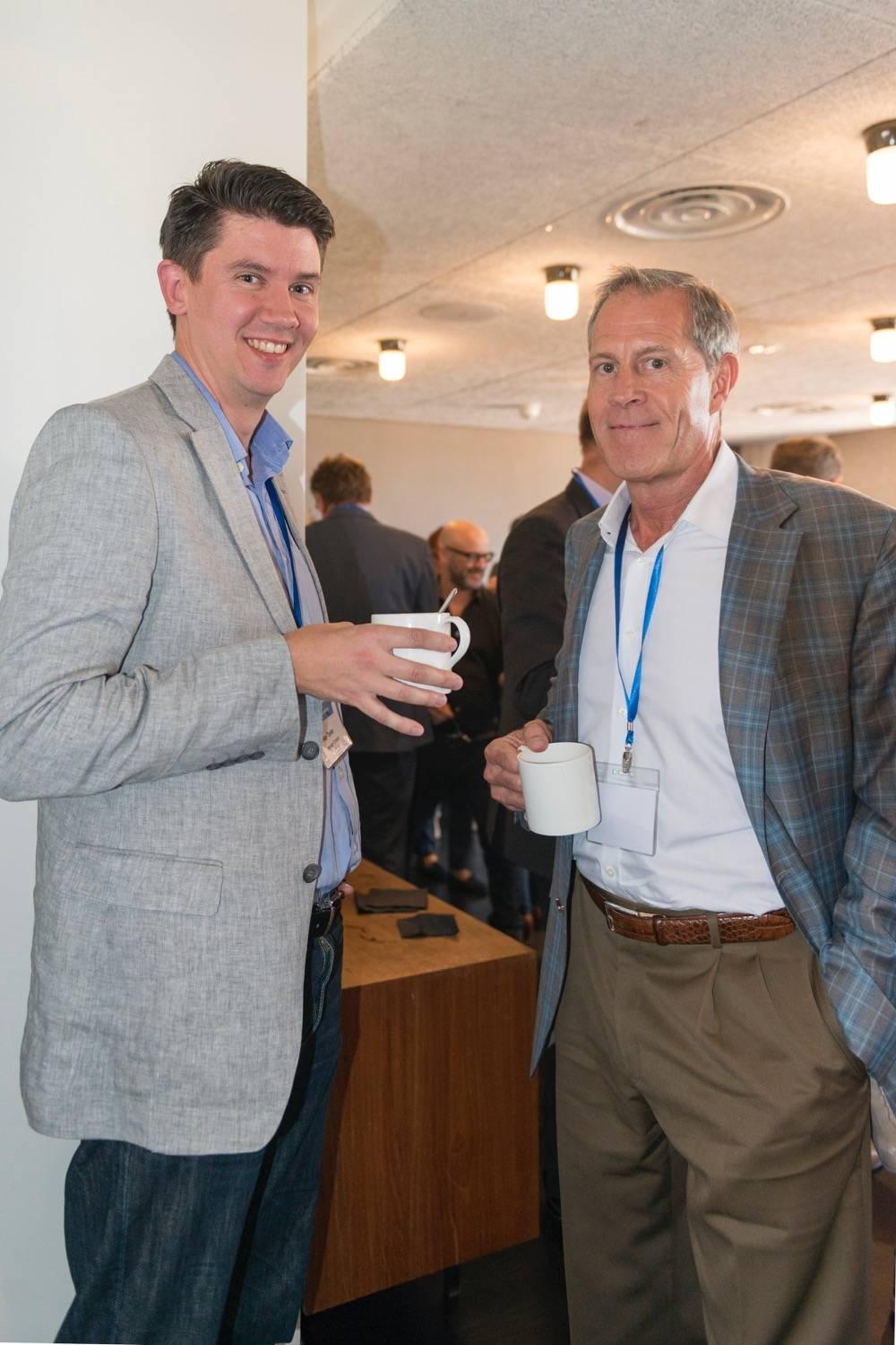 Ben Taylor (Language Connect), Greg Brink (Brink Global Solutions)