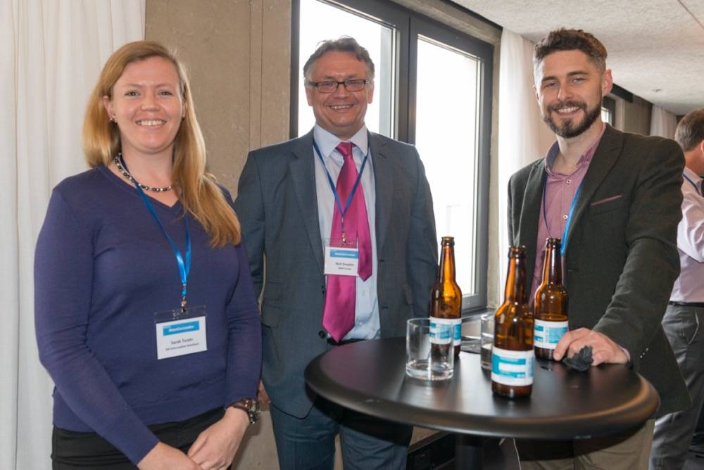 Sarah Turpin (3di Information Solutions), Neil Simpkin (RWS), John Tinsley (Iconic)