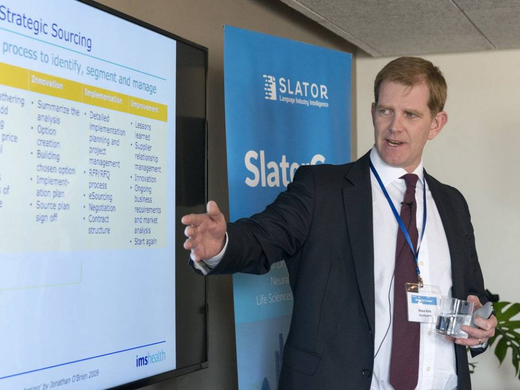 Are You a Strategic Supplier? How a Chief Procurement Officer Sees Translation