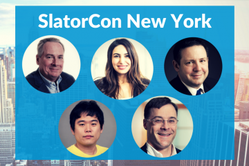 Phil Shawe, Ron Kuehl Join Rory Cowan, May Habib, K. Cho to Speak at SlatorCon NY