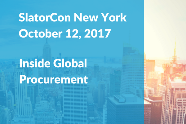 D&B's Chief Procurement Officer Kevin Giblin to Speak at SlatorCon New York