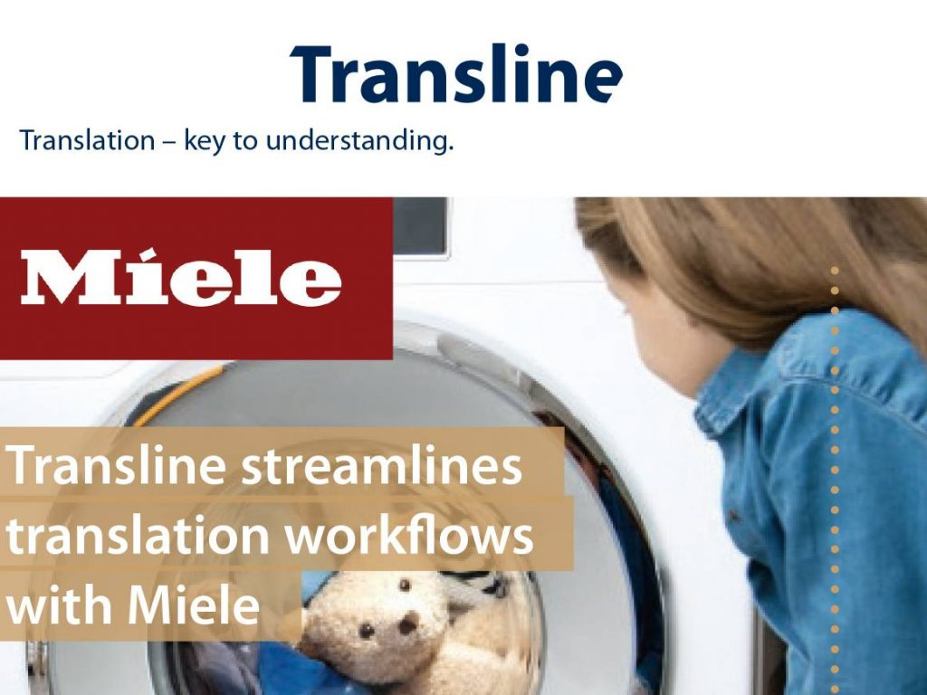 Transline Streamlines Translation Workflows with Miele
