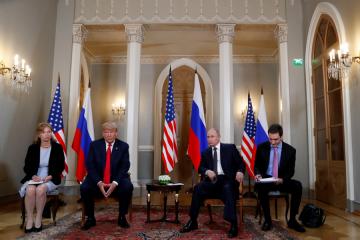 Trump's Interpreter Suddenly Finds Herself at the Center of a Political Firestorm