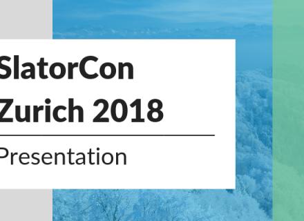 SlatorCon Zurich 2018 Presentation