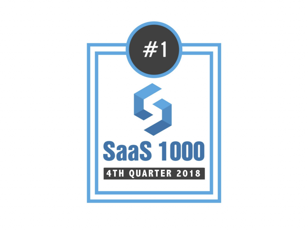 memoQ #1 TMS on SaaS 1000 Growth List