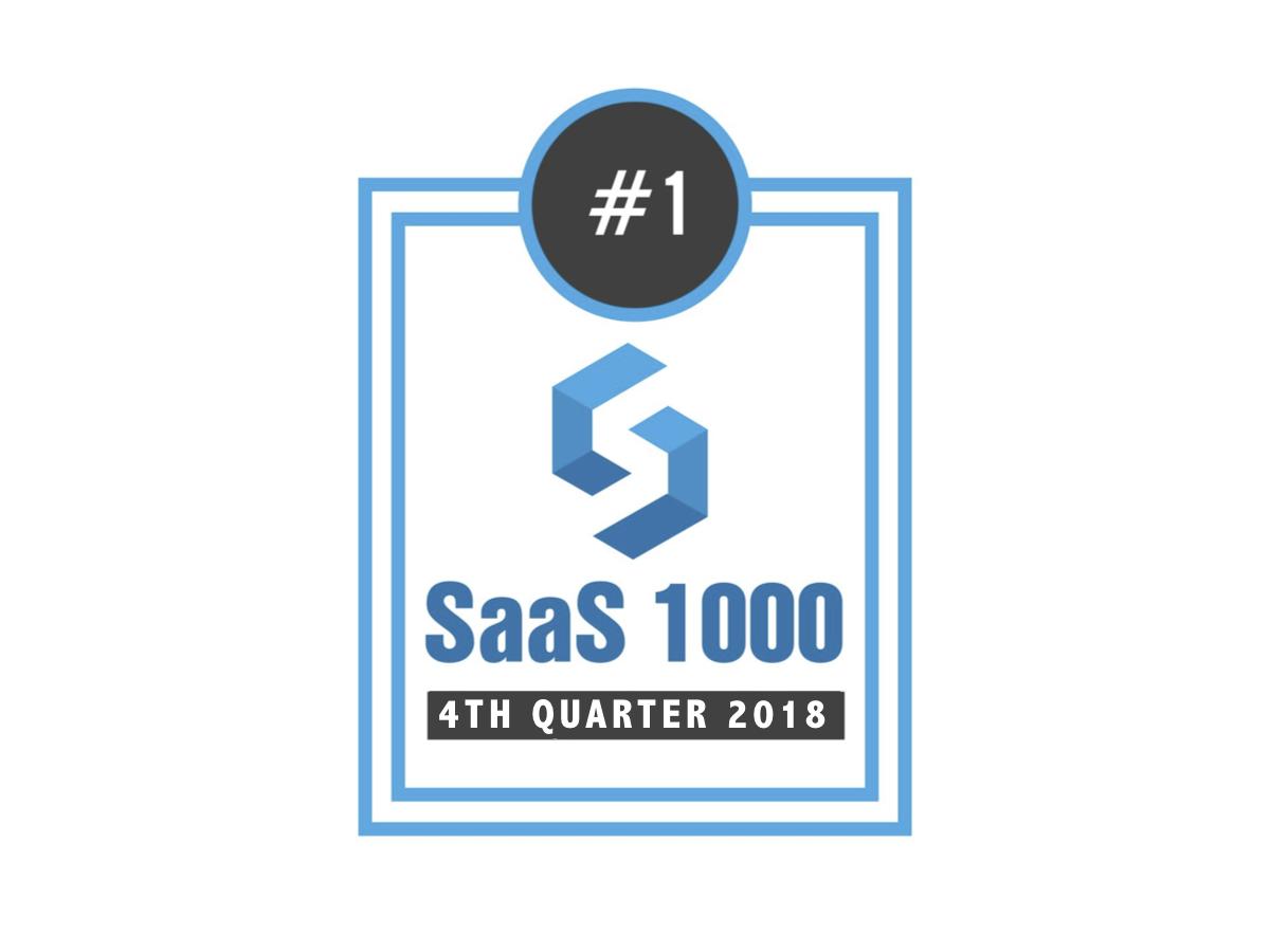 memoQ #1 TMS on SaaS 1000 Growth List