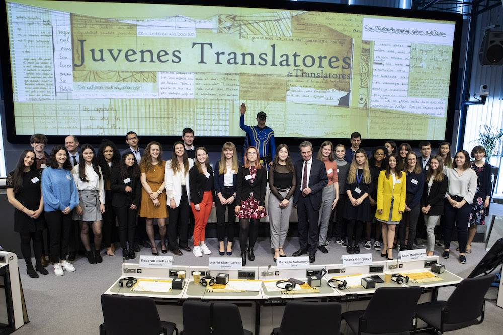 'So many things you can't just translate' — the EU's Young Translators Come Together