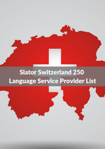 Slator Switzerland 250 Language Service Provider List