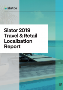 Travel and Retail 2019 Translation and Localization Report