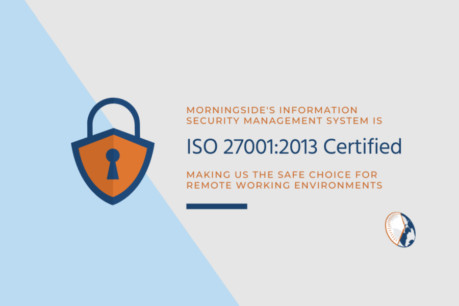 Morningside Achieves ISO 27001 Certification