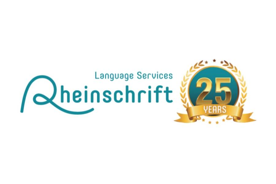 Rheinschrift Language Services – 25 Years As a Reliable Partner for Translation and Localization