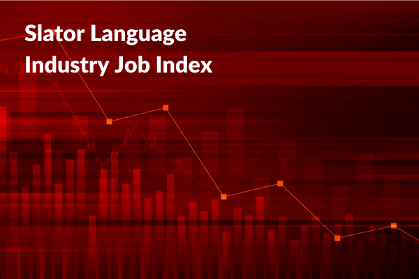 Slator Job Index Falls in April 2020 as Coronavirus Hits