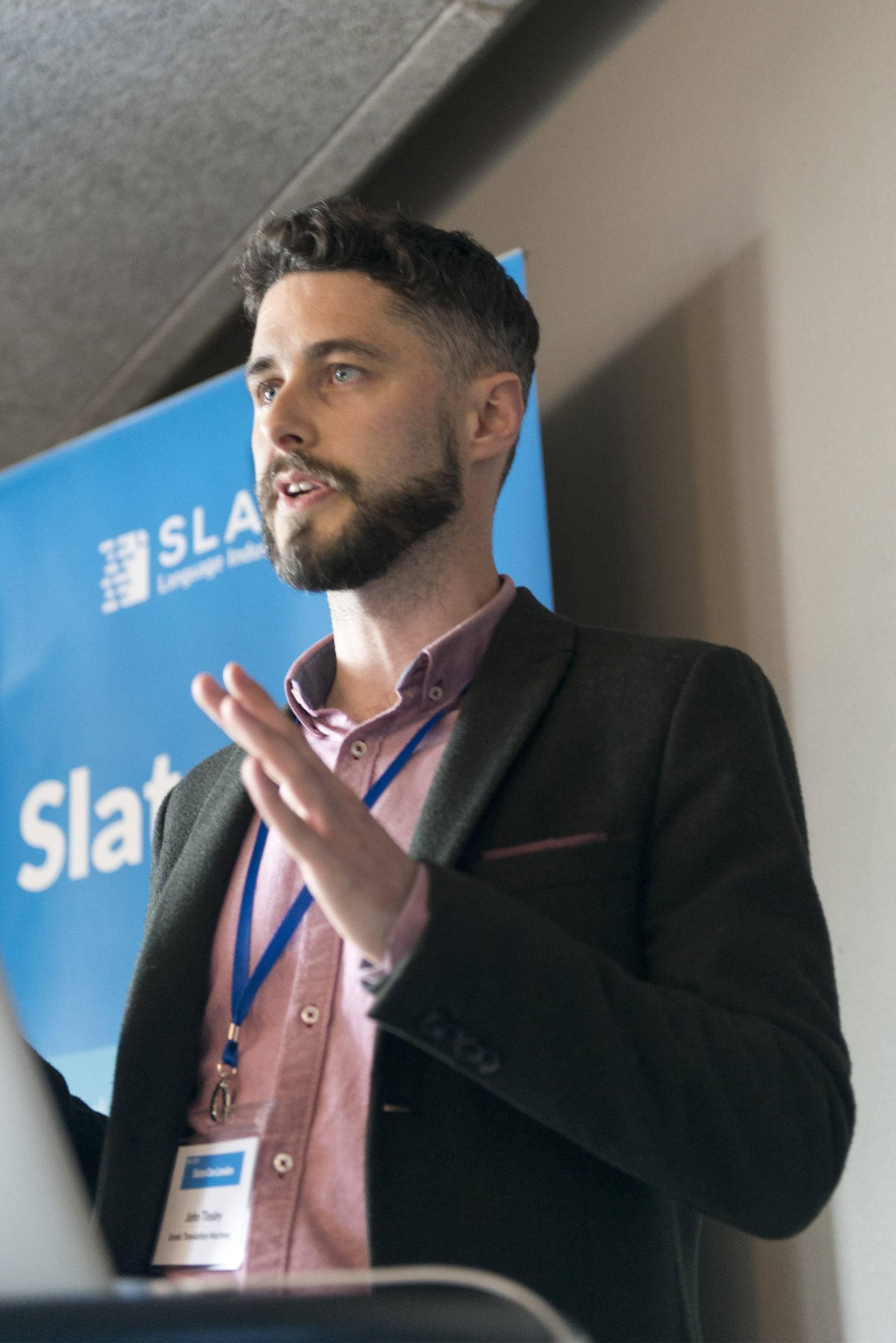 John Tinsley at SlatorCon London 2017