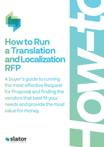 Slator 2020 How to Run a Translation and Localization RFP - Procurement
