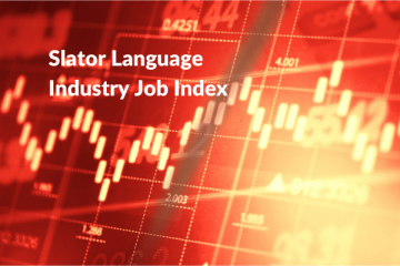 Decline in Slator Job Index Slows in July 2020