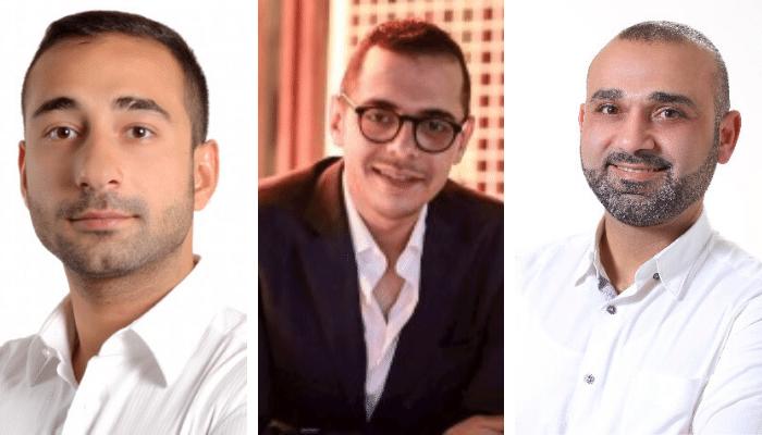 Marwan Abdelaziz, Rakan Al Hassan, Iyad Ahmad