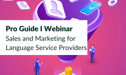 Sales and Marketing for Language Service Provider