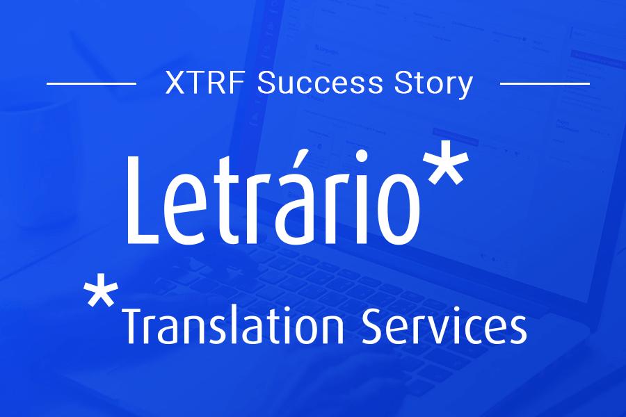 Letrário Makes the XTRF Leap