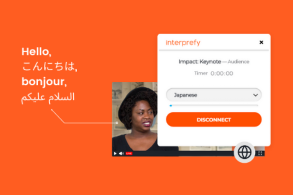 SpotMe and Interprefy Announce a New Partnership to Provide Remote Interpretation Services to SpotMe Customers