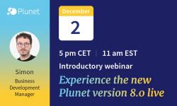 Plunet Version 8 Webinar Dec 2, 2020