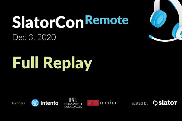 SlatorCon December 2020 Remote Full Replay