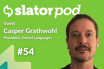 Oxford Languages President Casper Grathwohl on Language Data as a Service