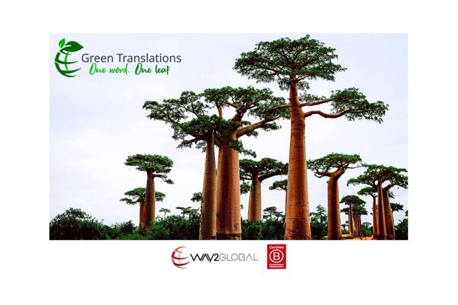 Way2Global Launches Green Translations, the First Carbon-free L10n Service in the World