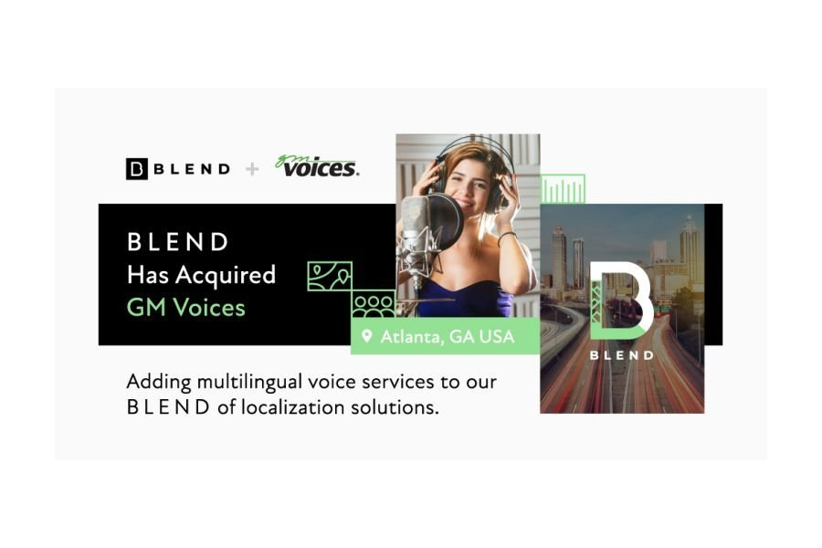 Localization Company BLEND Acquires GM Voices