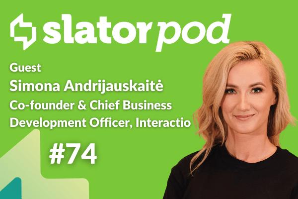 Remote Simultaneous Interpreting With Interactio Co-founder Simona Andrijauskaitė