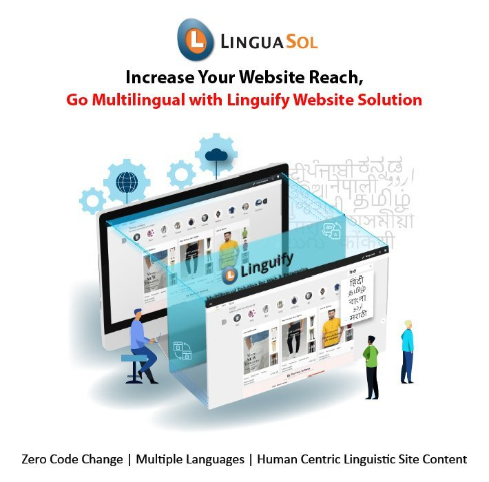 LinguaSol, website localization solution