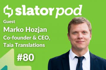 Scaling a Translation Startup with TAIA CEO Marko Hozjan