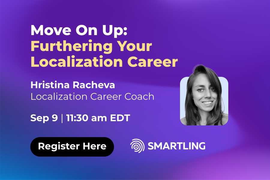 Smartling Localization Career Webinar Sept 2021