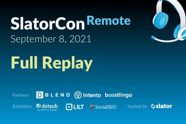 SlatorCon Remote September 2021 Full Replay